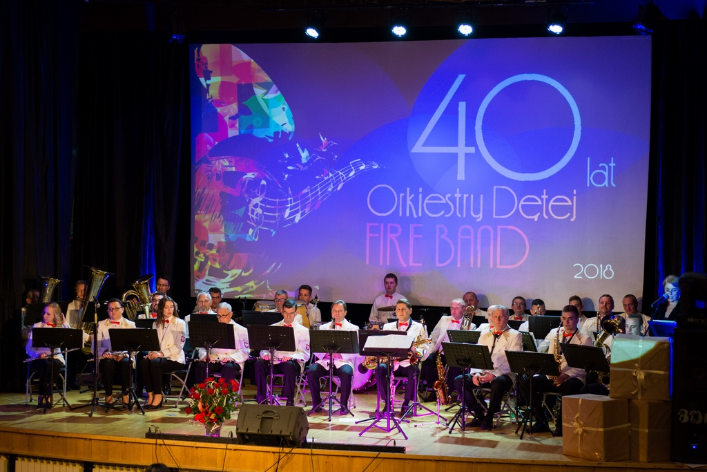 40 lat Orkiestry FIRE BAND