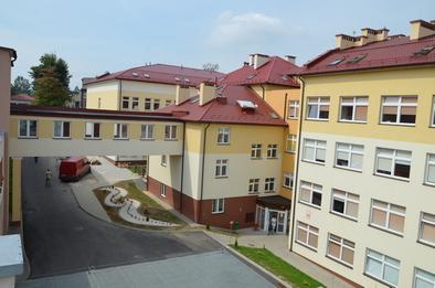 szpital budynek