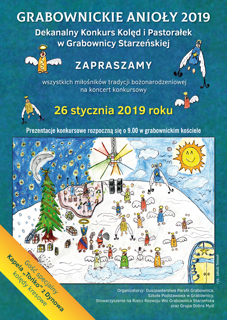 GrabownickieAnioly2019 Plakat na strone